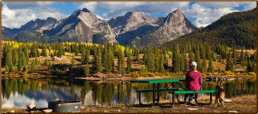 San Juan Mountains Colorado camping